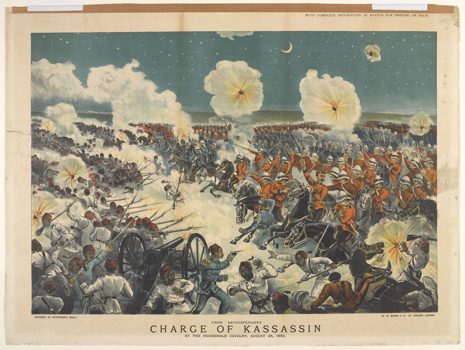 The Moonlight Charge of Kassassin by the Household Cavalry, 1882