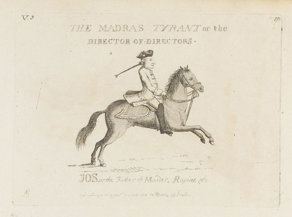 'The Madras Tyrant, or the Director of Directors'