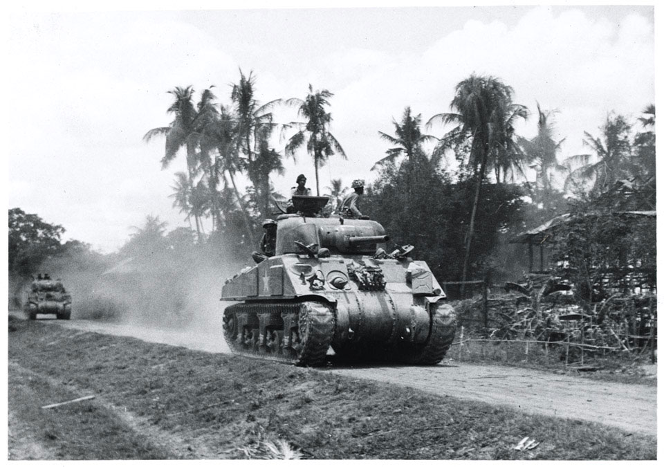 Indian Army Sherman tanks, 1944 (c) | Online Collection | National Army  Museum, London