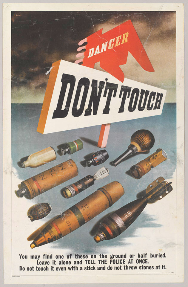 'Danger Don't Touch', 1943