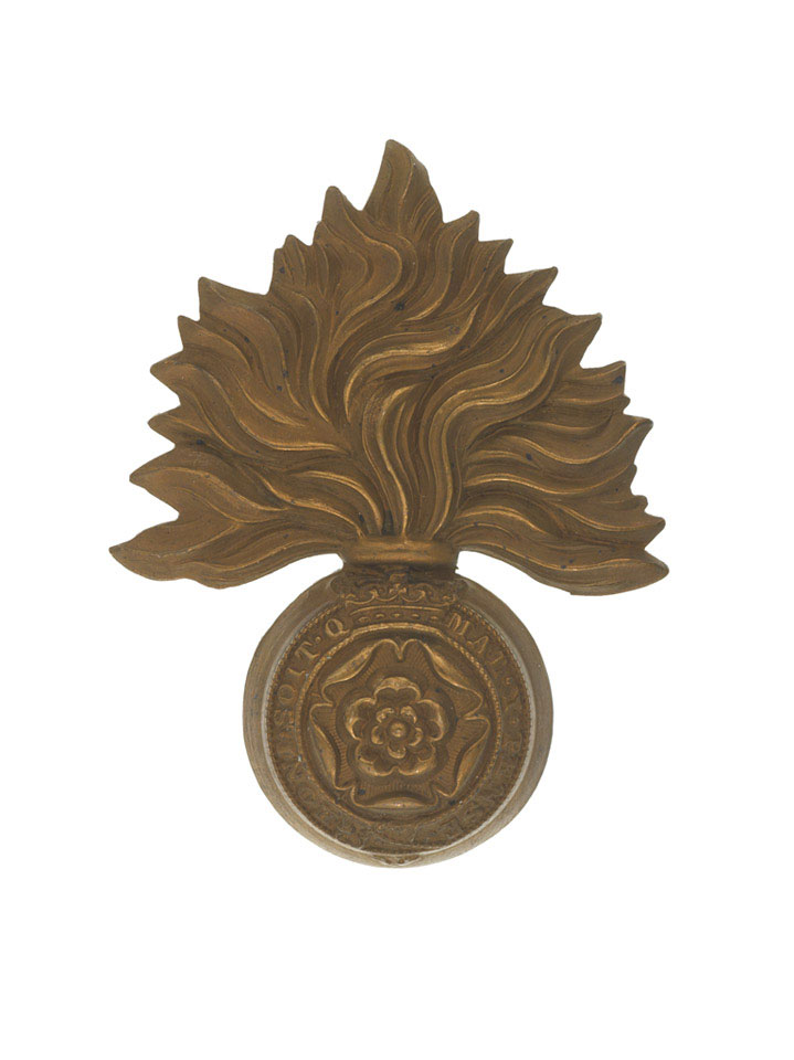 Other ranks' cap badge, The Royal Fusiliers (City of London Regiment), 1898 (c)
