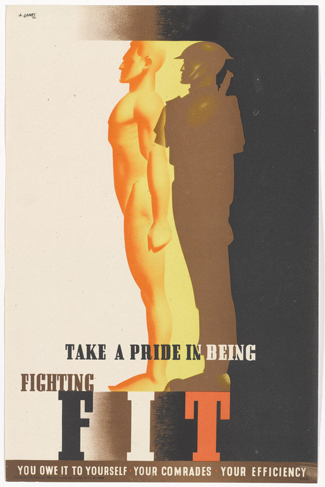 'Take a Pride in being Fighting Fit', 1942