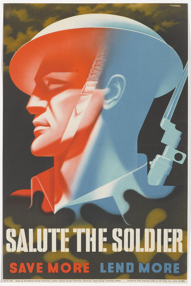 'Salute the Soldier Save More Lend More', 1944