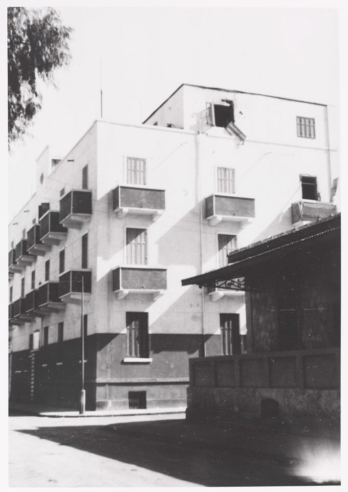 Bureau Sanitaire barracks, Ismailia, 25 January 1952