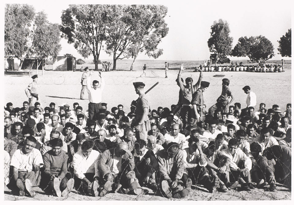 Round up operation at Paramlymni near Famagusta, October 1958