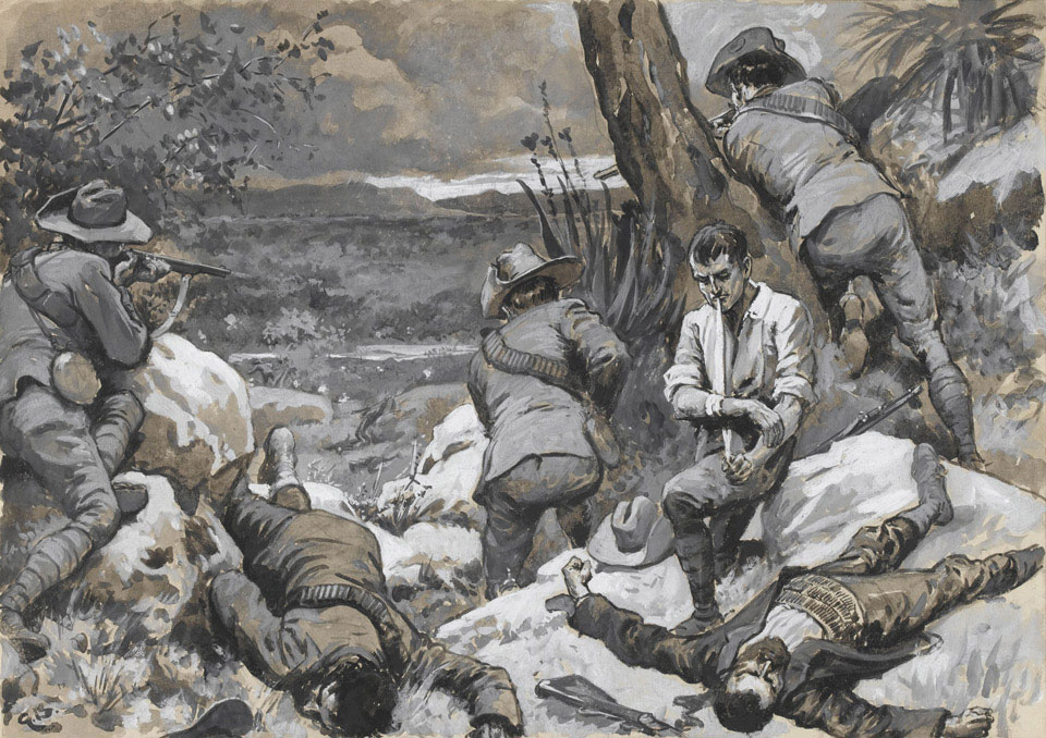 'The Boer Attack on Caesar's Camp: A Hot Corner with the Border Mounted Rifles, 1900'