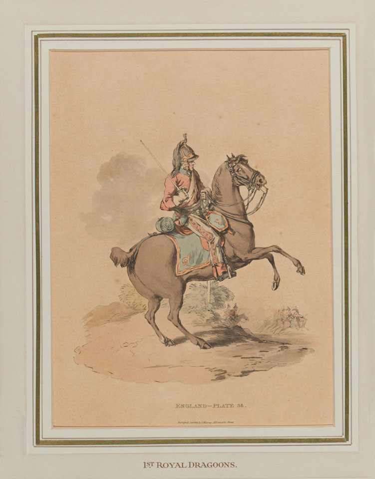 Mounted trooper, 1st (Royal) Regiment of Dragoons