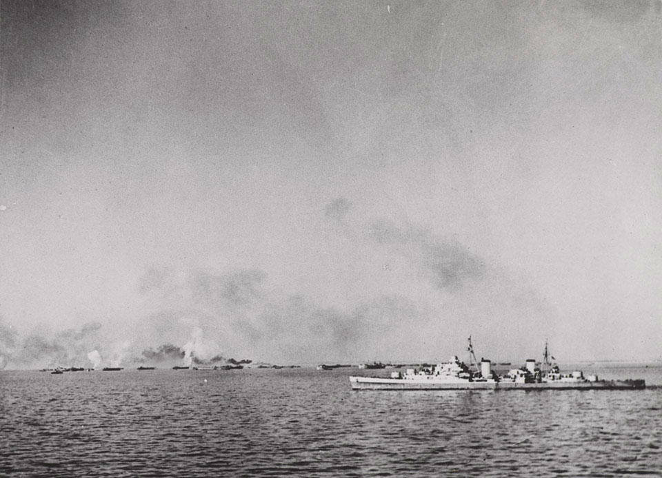 The landing at Anzio, 22 January 1944