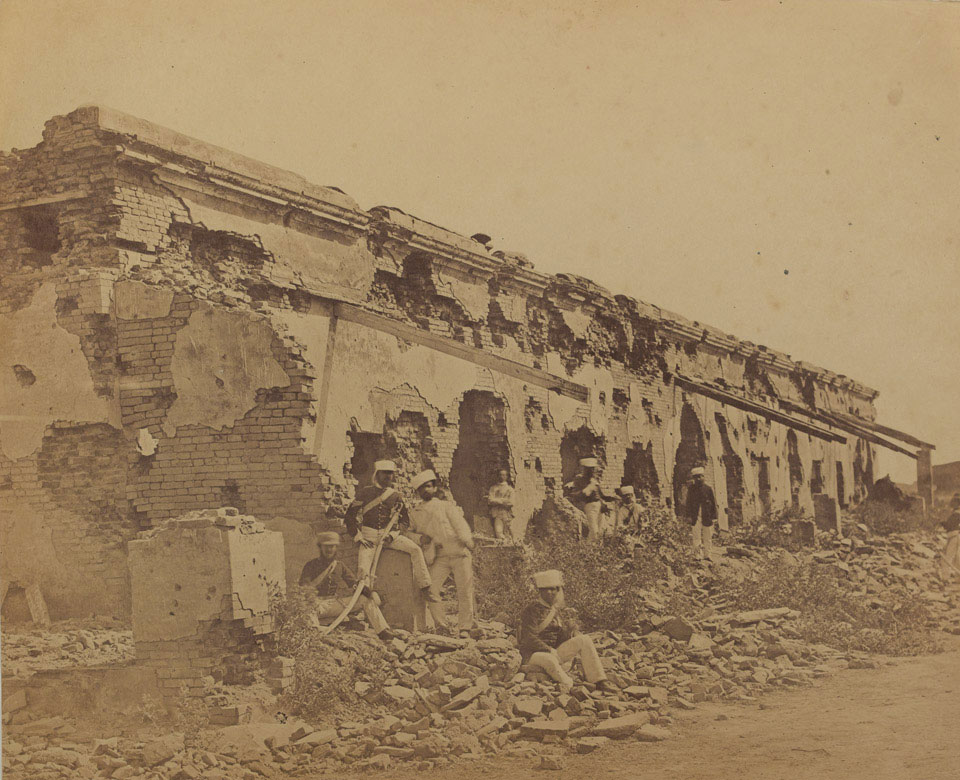 General Wheeler's entrenchment at Cawnpore, Indian Mutiny, 1858