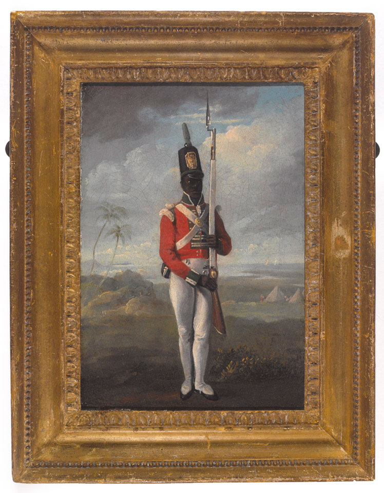 A private of the 8th West India Regiment, 1803 (c)