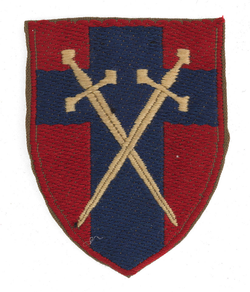 Formation badge, Headquarters British Army of the Rhine, 1958 (c)