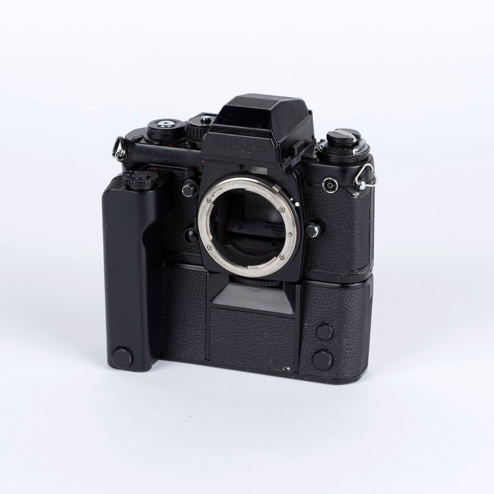 F3 Motor Drive photographic camera, used by British Commanders'-in-Chiefs Mission to Soviet Forces in Germany (BRIXMIS), 1984 (c)