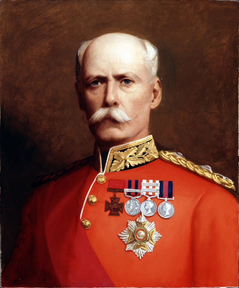 Lieutenant General Sir Henry Marshman Havelock-Allan, Royal Irish Regiment, 1881 (c)