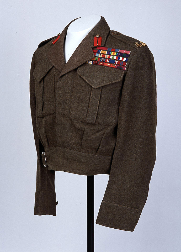 Battle dress blouse, Sir Gerald Templer, 1958 (c)