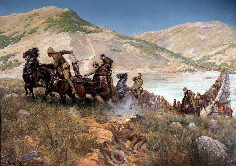 Buller's Final Crossing of the Tugela, February 1900
