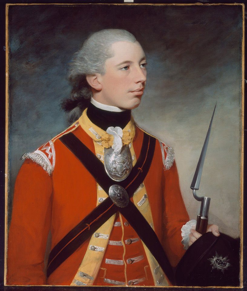 Captain Thomas Hewitt, 10th Regiment of Foot, 1781