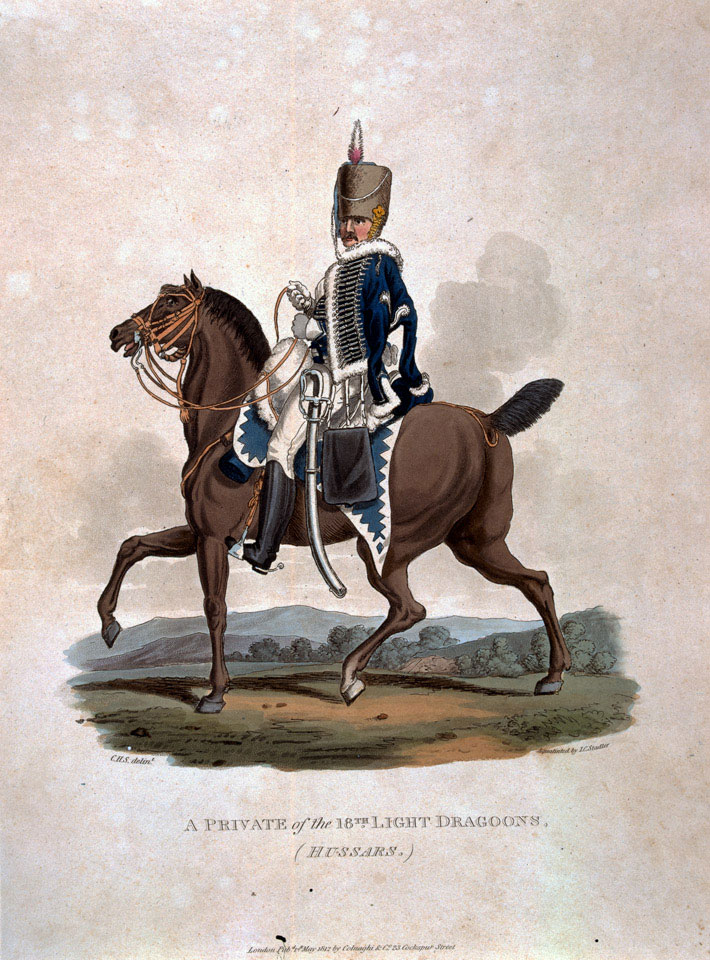 A Private of the 18th Light Dragoons (Hussars), 1812