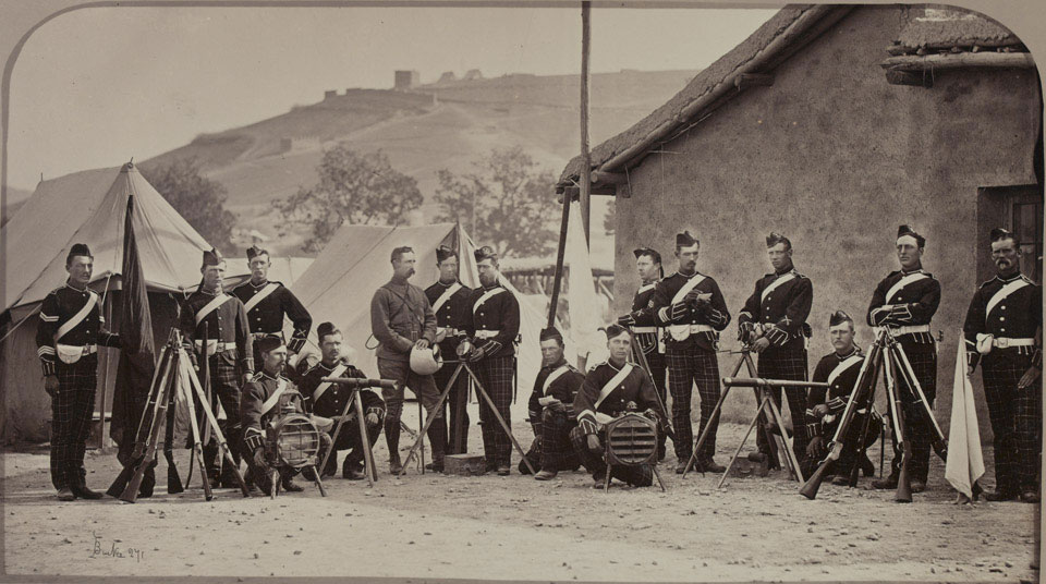Soldiers of the 72nd (Duke of Albany's Own Highlanders) Regiment, 1879