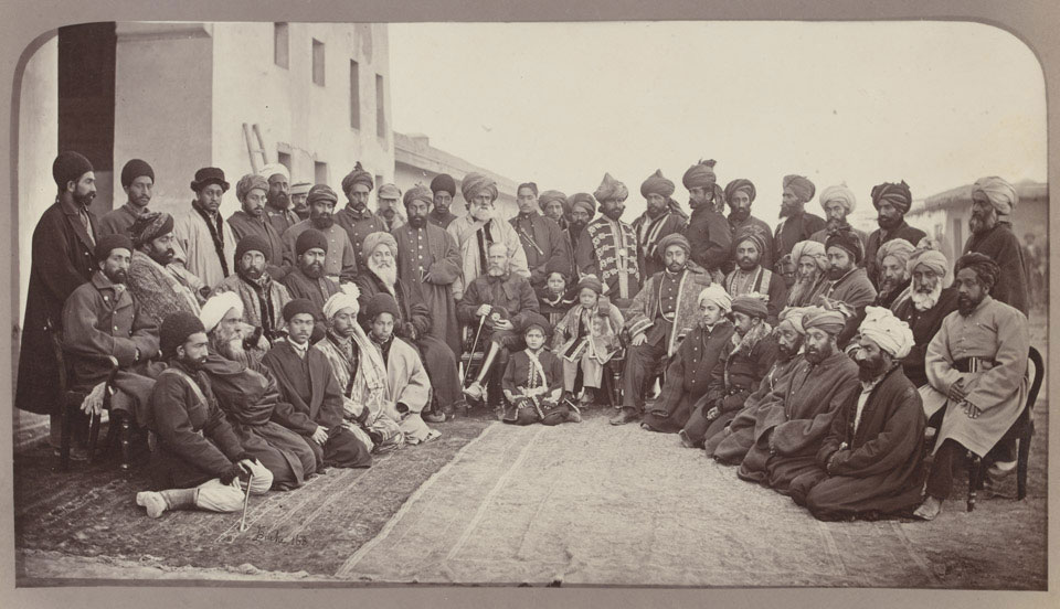 General Roberts and Sirdars of Kabul, 1879 (c)