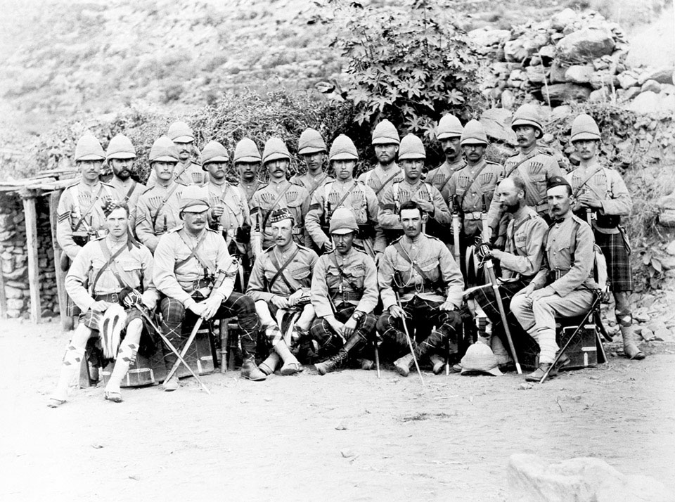 2nd Battalion, Seaforth Highlanders (Ross-shire Buffs, The Duke of Albany's), Black Mountain Expedition, 1888