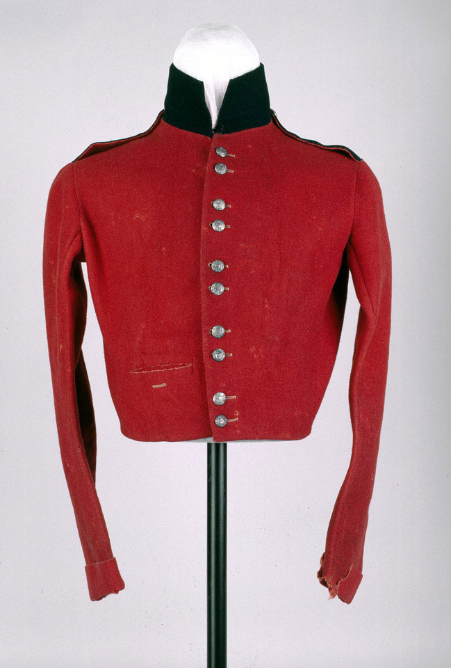 Shell jacket, other ranks', 13th (1st Somersetshire) Regiment of Foot (Prince Albert's Light Infantry), 1848 (c)