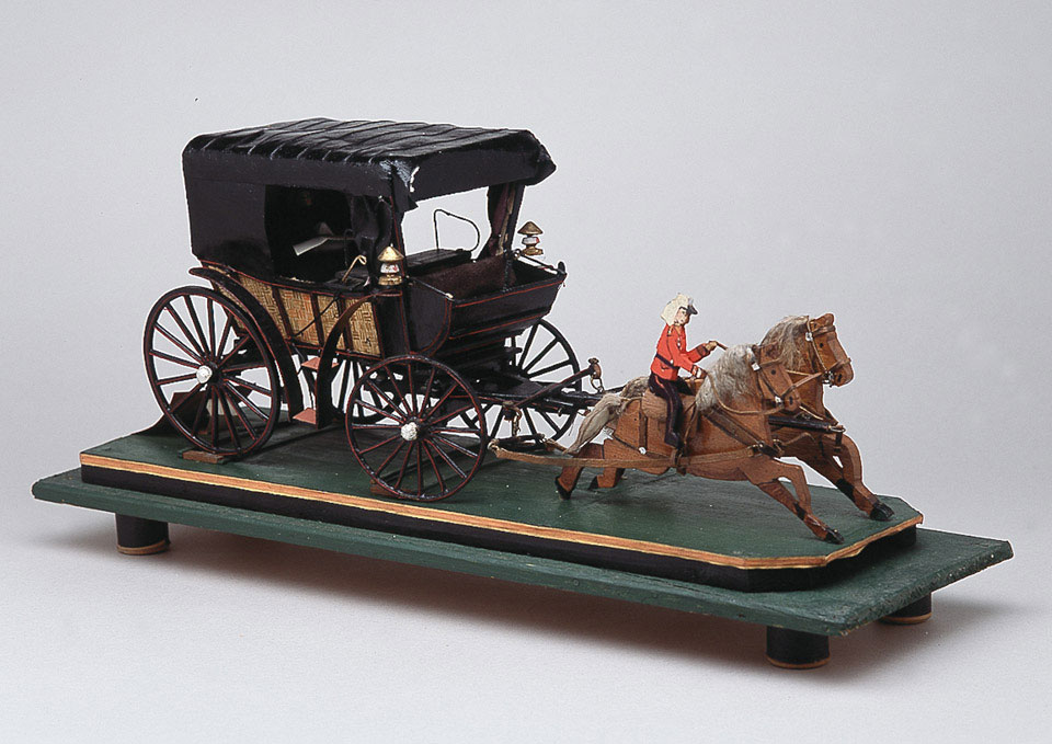 Model of carriage used by Florence Nightingale, 1856 (c)