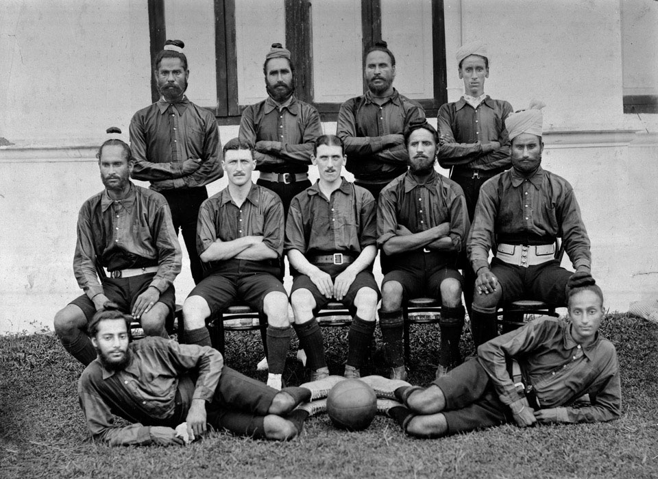 Football team, 20th Duke of Cambridge's Own Infantry (Brownlow's Punjabis), 1920