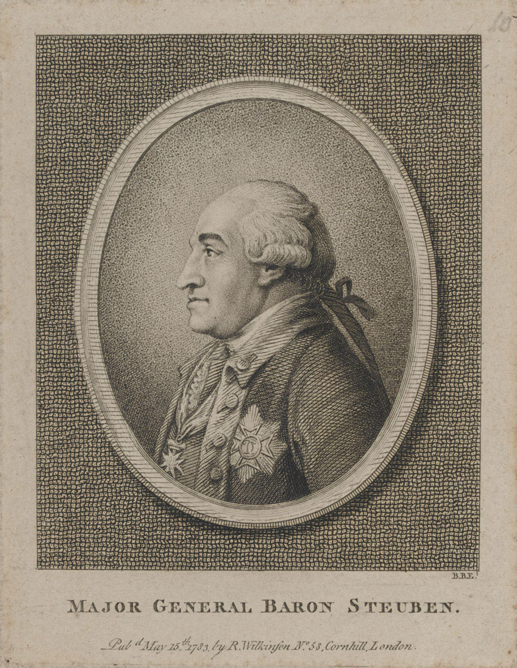 Major General Baron Steuben