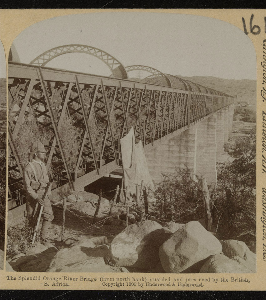 Orange River Bridge, South Africa, 1899 (c)