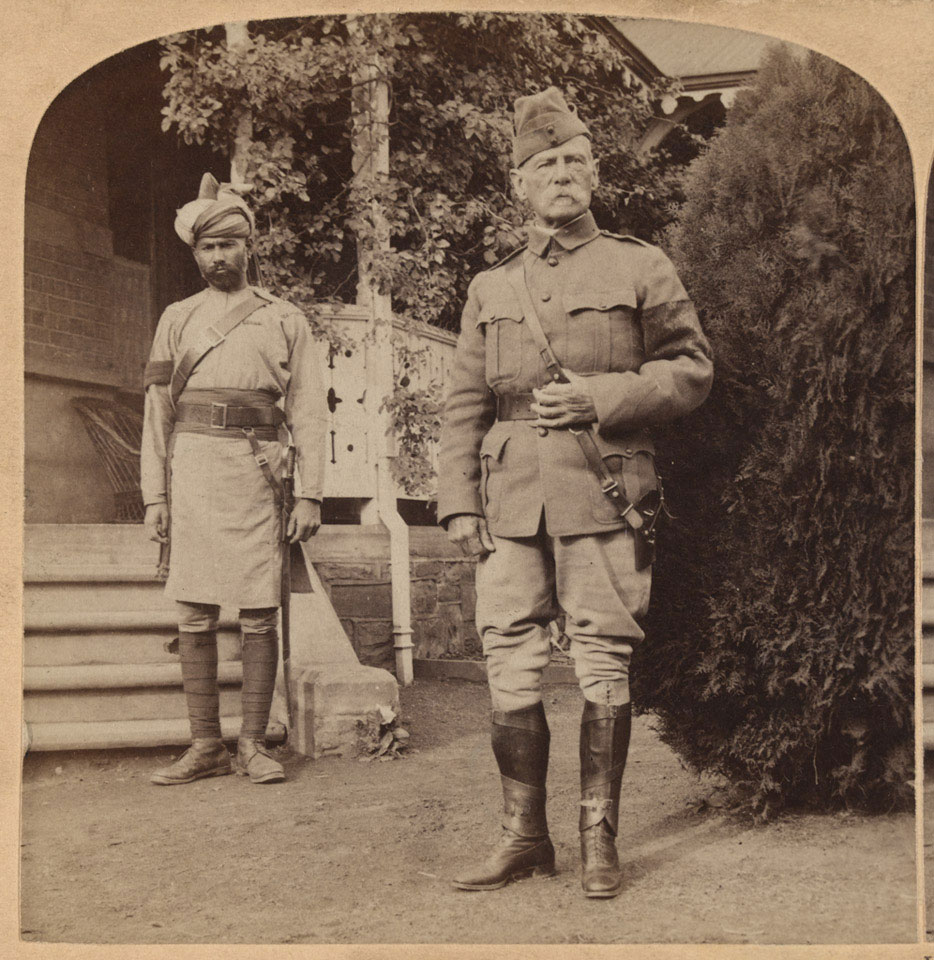Lord Roberts, British Commander-in-Chief, South Africa, 1899