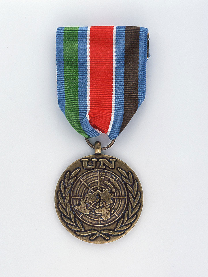 United Nations Bosnia Medal, (UNPROFOR) UN Protection Force, Bosnia 1992 (c)