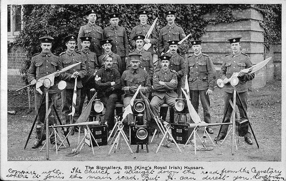 Signallers of the 8th (King's Royal Irish) Hussars