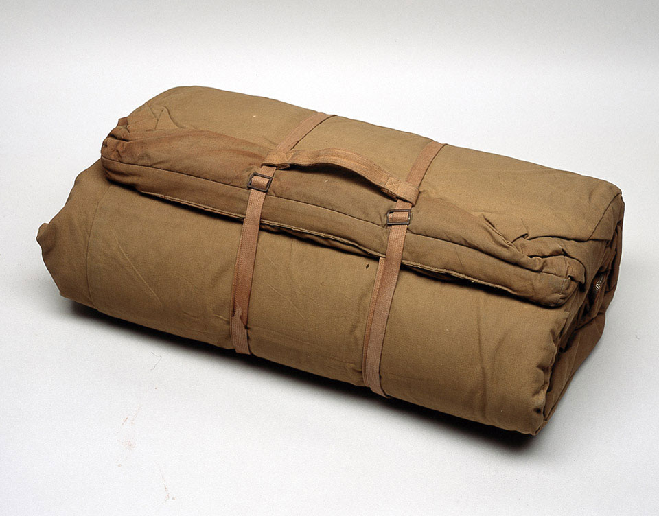Sleeping bag issued to Field Marshal Sir Gerald Templer, 1952 (c)