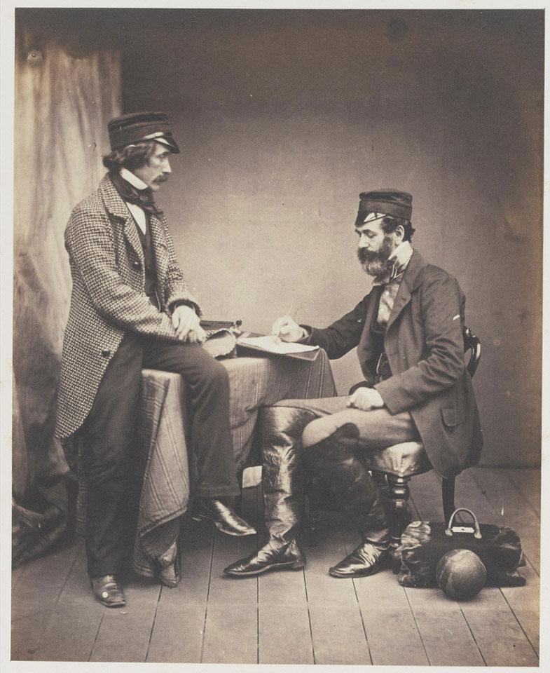 Dr Sutherland and Robert Rawlinson Esq, The Sanitary Commission, 1855