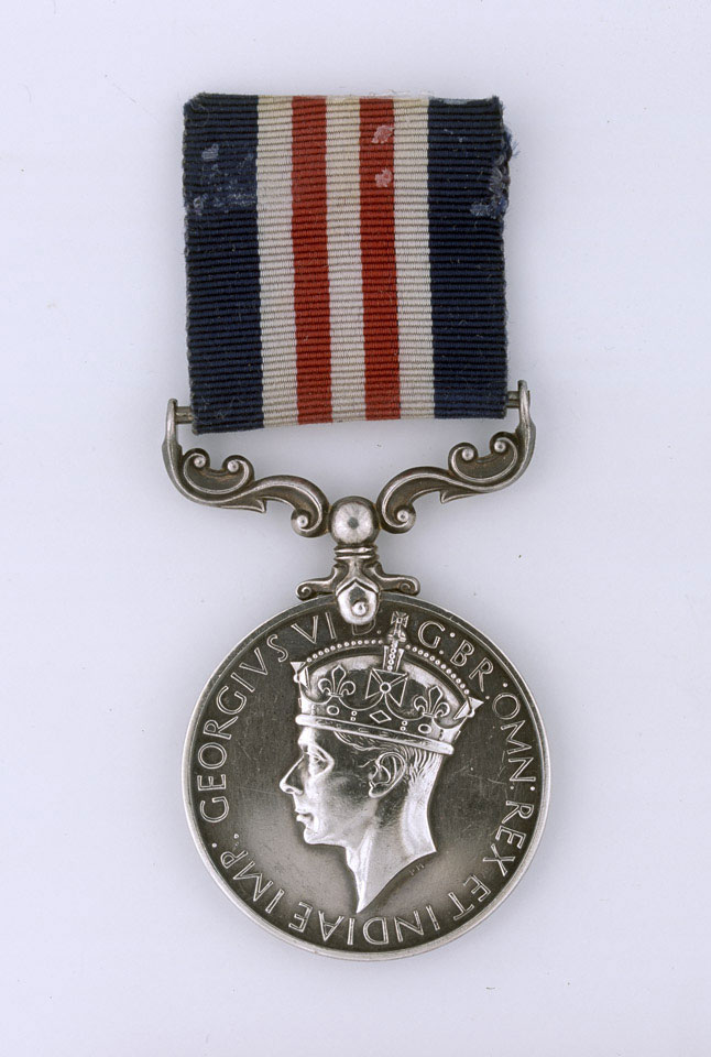 Military Medal, Sergeant Herbert Frederick Chambers, Royal Armoured Corps and Special Boat Service, 1944